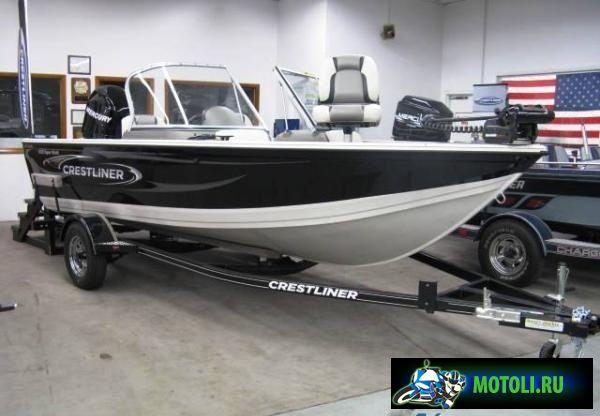 Алюминиевая лодка Crestliner Sportfish 1850 SST