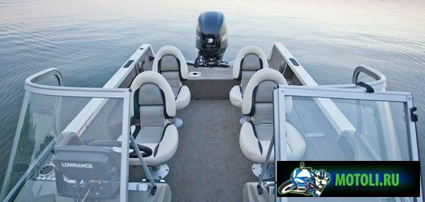 Алюминиевая лодка Crestliner Sportfish 2150OB