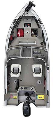 Алюминиевая лодка Crestliner Super Hawk 1700