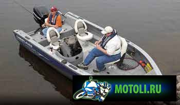 Алюминиевые лодки Crestliner Fish Hawk