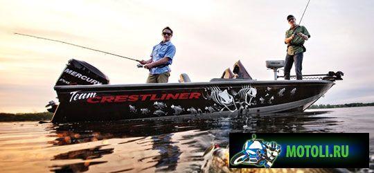 Алюминиевая лодка Crestliner Fish Hawk 1700 Tiller