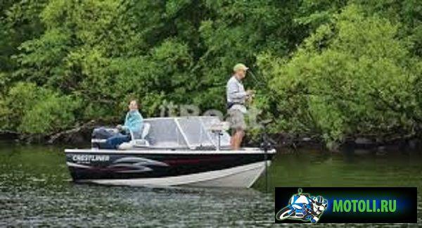 Алюминиевая лодка Crestliner Fish Hawk 1750 Tiller