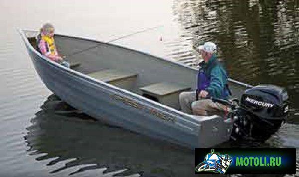 Алюминиевая лодка Crestliner Sportsman 18 SS / SS SC