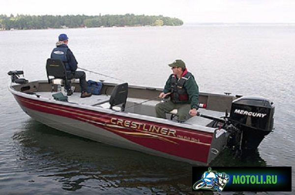 Алюминиевая лодка Crestliner Jons CR-Series CR1852M / МТ
