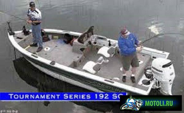 Алюминиевая лодка Crestliner Tournament Series 192 SC