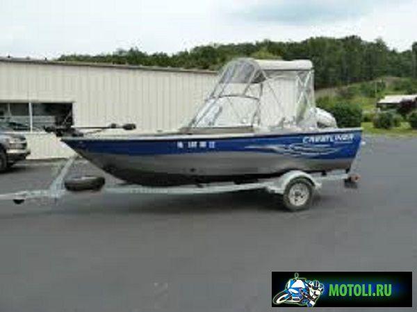 Алюминиевая лодка Crestliner Canadians 1650