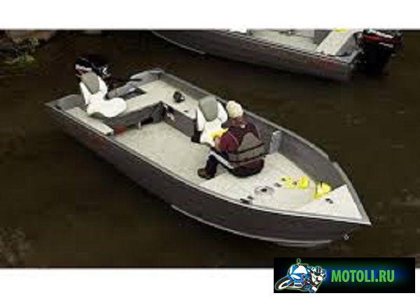 Алюминиевая моторная лодка Crestliner Canadians 16