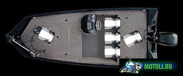 Алюминиевая лодка Crestliner СХ 19
