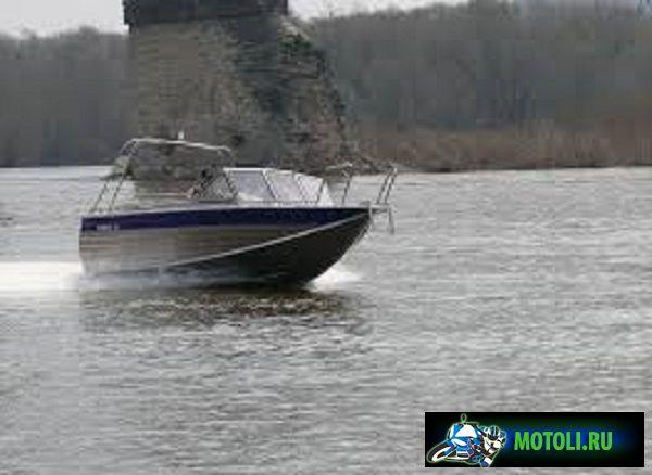 Алюминиевая лодка RusBoat-55