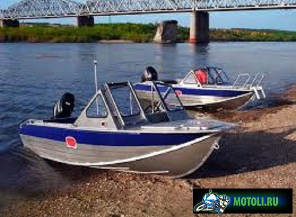 Алюминиевая лодка RusBoat-45