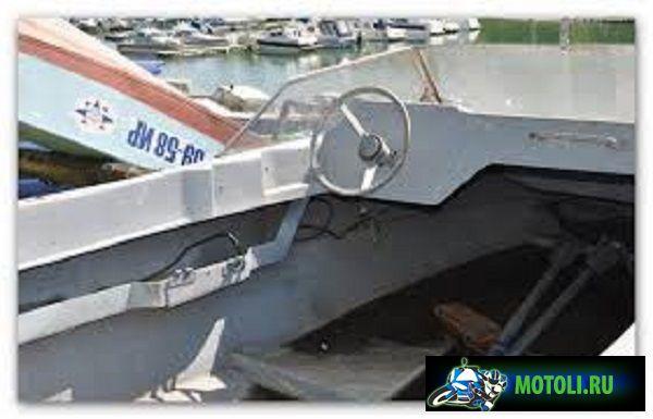 Моторно-гребная алюминиевая лодка Беркут 380М