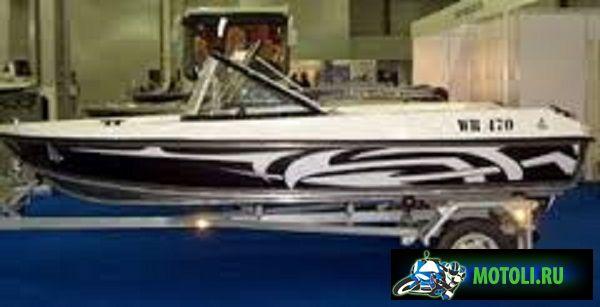 Лодка WR 470 AN