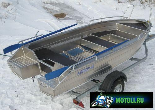 Алюминиевая лодка Аллюр-40