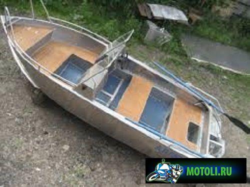 Алюминиевая лодка Аллюр-40-2К