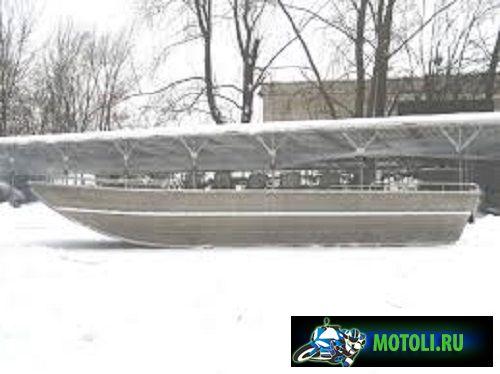 Алюминиевая лодка Аллюр-56 (Джонбот)