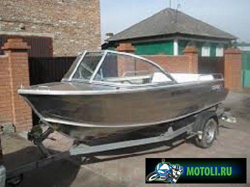 Алюминиевая лодка Coast Runner 455
