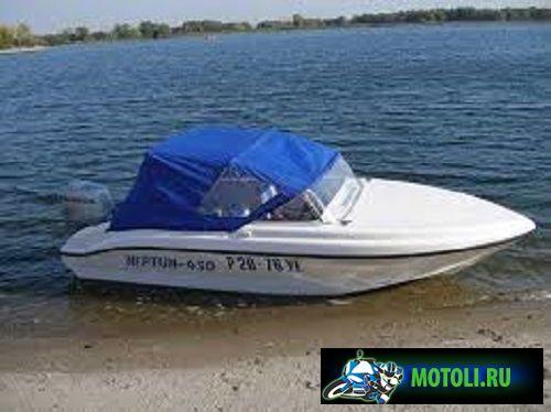 Лодка Нептун 450 (мотолодка)