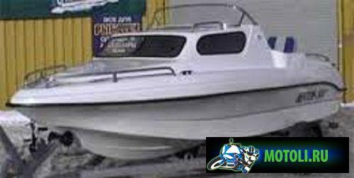 Пластиковая моторная лодка (мотолодка) Нептун 500