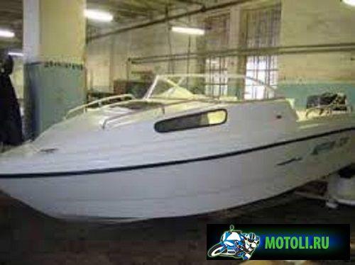 Пластиковая моторная лодка (мотолодка) Нептун 550