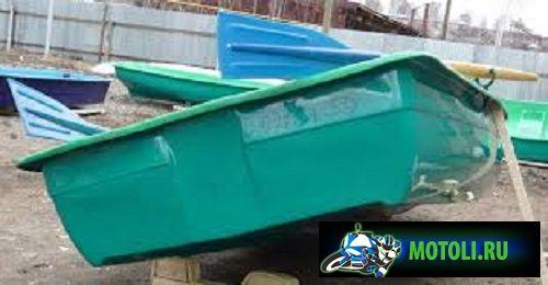 Пластиковая лодка гребная Спорт