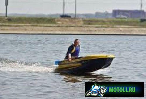 Пластиковая моторно гребная лодка Диана 1 01 Спорт
