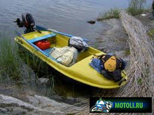 Пластиковая лодка картоп Диана 1- 01
