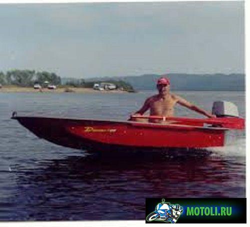 Пластиковая лодка картоп Диана 1-02