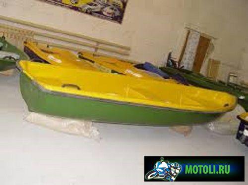 Пластиковая лодка Диана 2-01