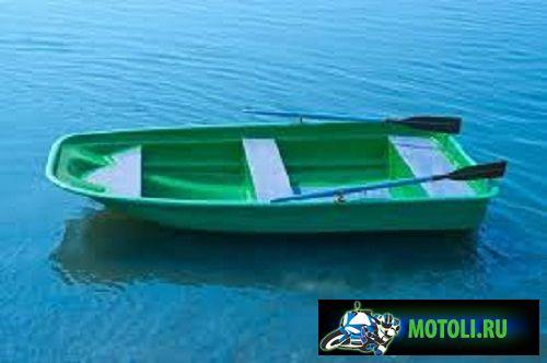 Пластиковая гребная лодка Старт