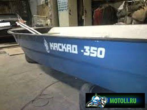 Пластиковая лодка Каскад-350 Рыбак