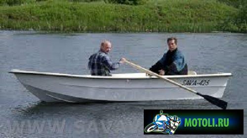 Лодка Sava 425