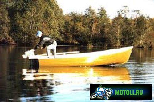 Лодка Стрингер 415