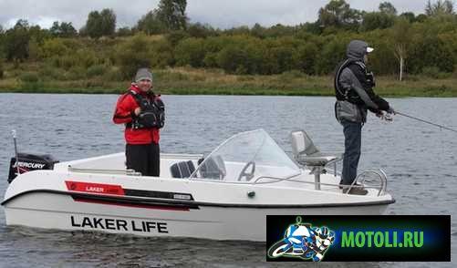 Лодка Laker V 450