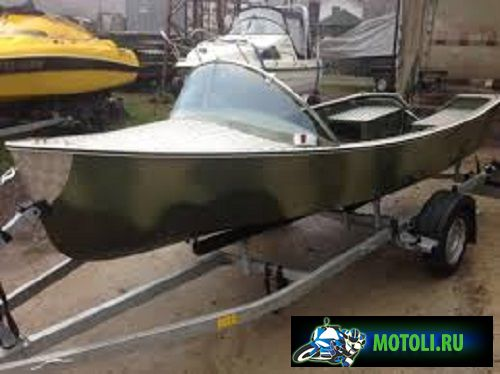 Лодка Комбат 4.3 М