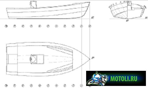 Лодка Сармат 4.9 Д