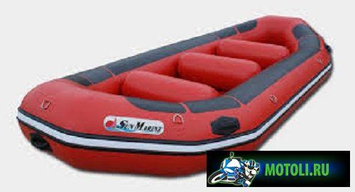 Надувная моторная лодка Sun Marine Raft Series