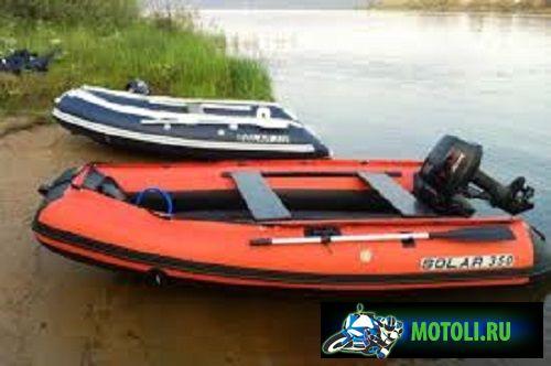 Лодка Солар 350