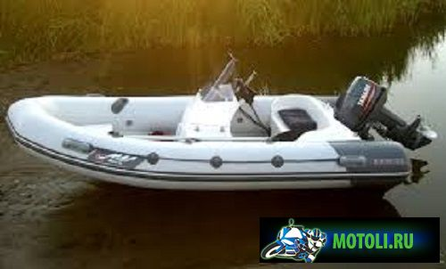 Лодка РИБ Буревестник 390