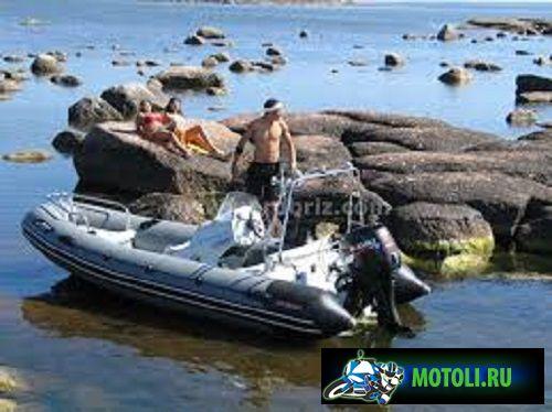 Лодка РИБ Буревестник 450