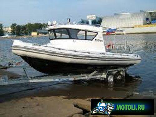 Лодка РИБ Буревестник 630 Патруль
