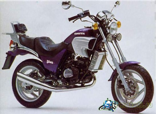 Cagiva Custom Blue 125