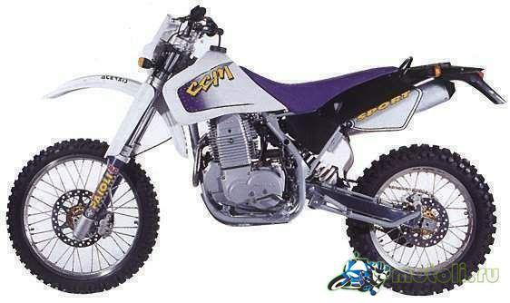 CCM 604DS Dual Sport