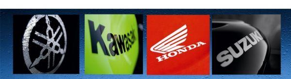 хонда, ямаха, кавасаки, сузуки бренды мотоциклов
