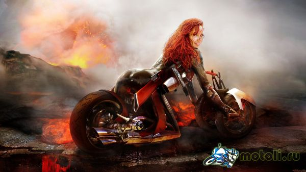 арт мотоцикл