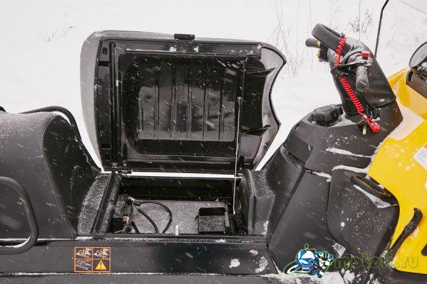 аккумулятор на снегоходе зимой